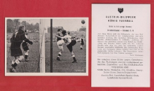 West Germany v Ireland Adam Kaiserslautern Schanko Borussia Dortmund Gibbon St Patricks Athletic A114